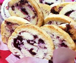 ブルーベリージャムクッキー