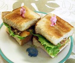 へしこの特製サンド